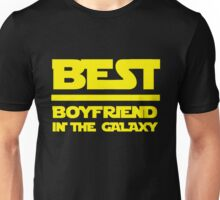 Best boyfriend in the galaxy. Unisex T-Shirt