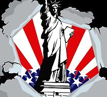 New York Liberty Statue by CroDesign