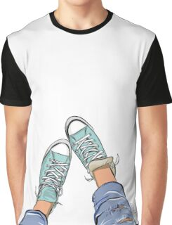 Sport shoes and jeans, Graphic T-Shirt