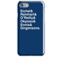 SABRES TOP 7 - WHITE iPhone Case/Skin
