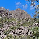 Cliffs, Ben Lomond Mountain, Tasmania, Australia by Margaret  Hyde