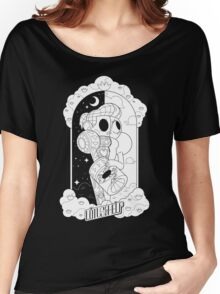 Lotus For Help - Nicki Noelle X Ray - WHITE Women's Relaxed Fit T-Shirt