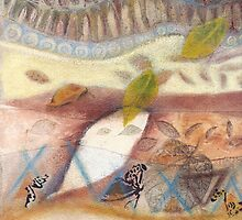 Tropical Fusions (Panel 1 of 4) by Kerryn Madsen-Pietsch