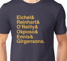 SABRES TOP 7 - YELLOW Unisex T-Shirt