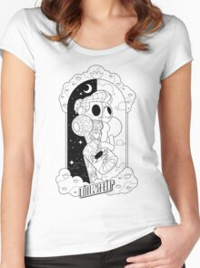 Lotus For Help - Nicki Noelle X Ray - BLACK Women's Fitted Scoop T-Shirt