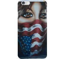 Behind a Troubled Flad iPhone Case/Skin