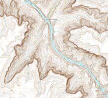 USGS TOPO Map Arizona AZ Separation Canyon 20111109 TM Sticker