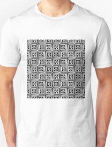 Simple squares. Unisex T-Shirt