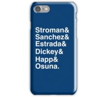 Blue Jays Top 6 - Pitchers iPhone Case/Skin