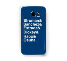 Blue Jays Top 6 - Pitchers Samsung Galaxy Case/Skin