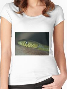 Green Mamba Women's Fitted Scoop T-Shirt