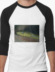 Green Mamba Men's Baseball ¾ T-Shirt