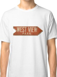 West View Park Sign Classic T-Shirt