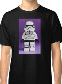 Purple Lego Storm Trooper Classic T-Shirt