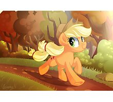 Applejack: Running Of The Leaves Photographic Print