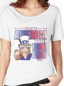 SAVE AMERICA Women's Relaxed Fit T-Shirt