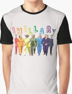 Hillary Clinton Pantsuit white Graphic T-Shirt