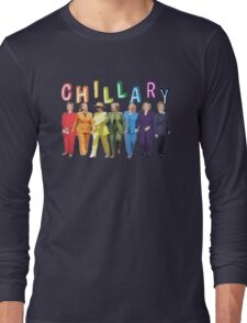 Hillary Clinton Pantsuit white Long Sleeve T-Shirt