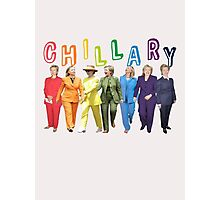 Hillary Clinton Pantsuit white Photographic Print
