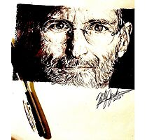 A Tribute to Steve Jobs by Billy Jackson Photographic Print
