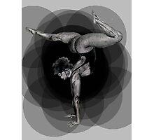 Doin' Yoga Photographic Print