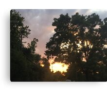 Sunset Sky Canvas Print