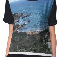 Seaside View Chiffon Top