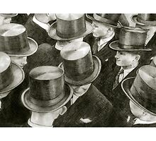 men with hats by art-koncept
