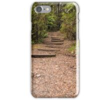 Steps On The Bush Walk iPhone Case/Skin