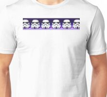Purple Lego Star Wars Heads Unisex T-Shirt