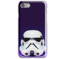 Purple Lego Star Wars Heads iPhone Case/Skin