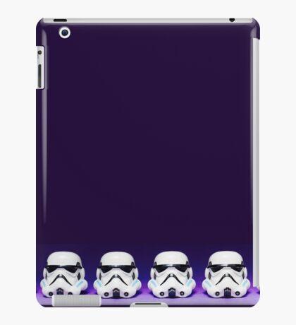 Purple Lego Star Wars Heads iPad Case/Skin