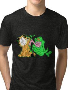 He Slimed Me Tri-blend T-Shirt