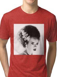 Bride of Frankenstein Tri-blend T-Shirt