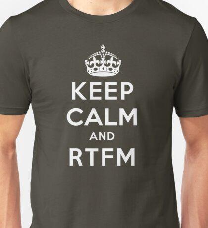 Keep Calm Geeks: RTFM T-Shirt