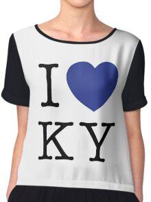 I Heart KY Chiffon Top