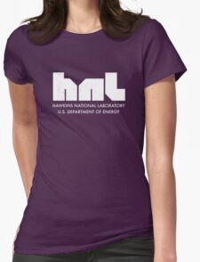 Hawkins National Laboratory Womens Fitted T-Shirt