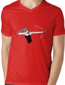 Huntress Mens V-Neck T-Shirt