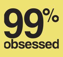 99% obsessed Kids Tee
