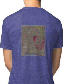 Marbleized Hemp Paper Tri-blend T-Shirt