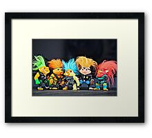 Toys For Children Challenge Framed Print