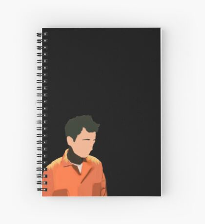 Tyler Joseph Heathens Abstract Spiral Notebook