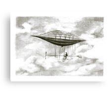 pasenger airship Canvas Print