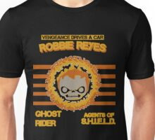 Vengeance drives a car Unisex T-Shirt