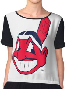 America's Game - Cleveland Indians Chiffon Top
