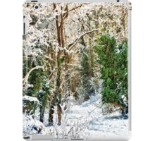 Woodland Snow iPad Case/Skin