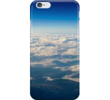 Aerial View Of Planet Earth As Seen From 40.000 Feet Altitude iPhone Case/Skin