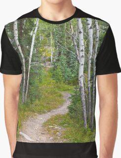 path through the aspen Graphic T-Shirt