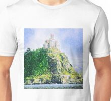 ST MICHAELS MOUNT CORNWALL ENGLAND Unisex T-Shirt