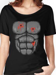 Harambe Halloween Costume - Shot Gorilla Chest Women's Relaxed Fit T-Shirt